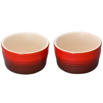 Le Creuset Set of 2 Ramekins (Cherry Red)