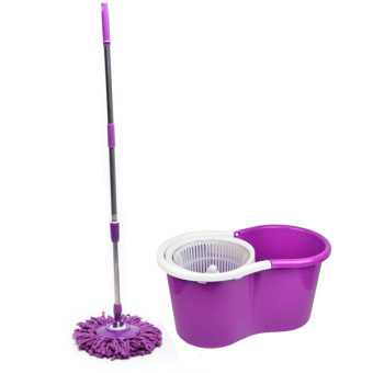 Harga Spin Mop (with 4 Mop Heads) - Purple Set D