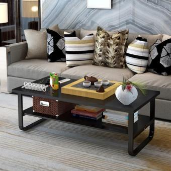 Harga 2-Tier Wide Coffee Table
