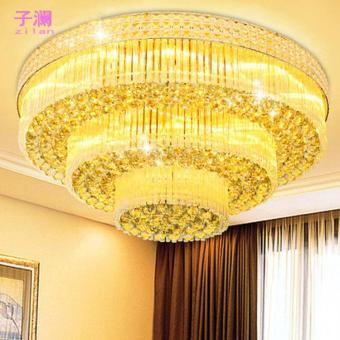Harga Living room Hall led Crystal ceiling lamp,1000mm - intl