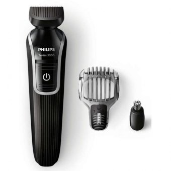 PSB Safety Mark Approved.'' Philips Hair Trimmer + Beard Comb + Nose Trimmer Model: QG3320