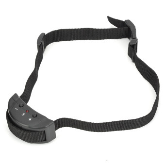 Harga Petainer 853 Pet's Dog Training Anti-Barking Collar (Black)