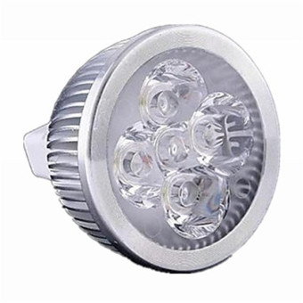 Harga GU5.3(MR16) 5 W 5 High Power LED 550 LM Warm White MR16 Dimmable LED Spot Lights DC 12 / AC 12 V(Export)