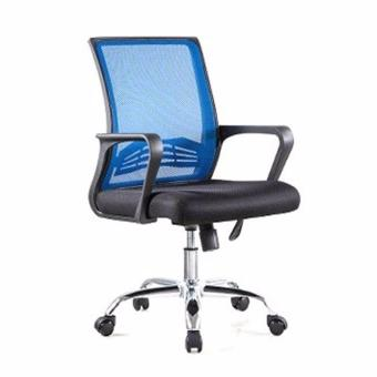Bently Office Chair C20 (Black/Blue),delivery-weekdays before 6pm