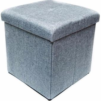 Harga Forest F-3036 Collapsible Storage Ottoman Linen