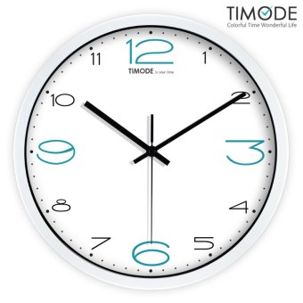 Harga Timode fashion living room mute quartz Wall Clock