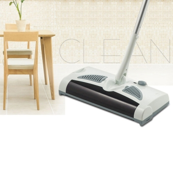 Harga Sweeping Machine W-S018 2 in 1 Rotatable Cordless Electric Robot Cleaner Sweeper Drag Sweeping Machine