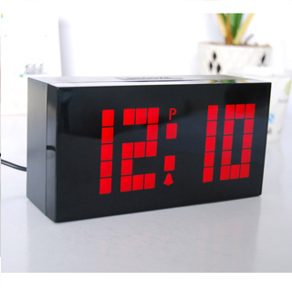 Special offer x creative personality table clock lazy alarm clock mute luminous led electronic watches digital clock
