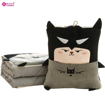 Harga Husky dog pillow cushion air conditioning is quilt car pillow dual nap cartoon cute office room
