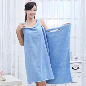 Harga [Step street network] spa shower robe Body bath towel bathrobe variety bath towel