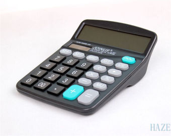 Harga Digital Calculator Desktop Huge Button Solar Battery Driven