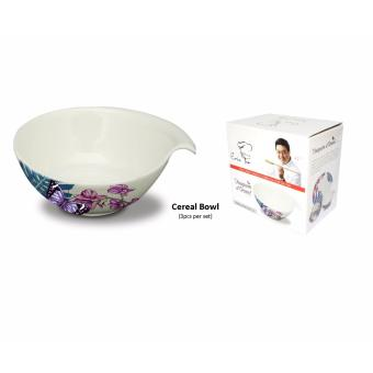 "Harga Chef Eric Teo 5.25"" Orchid Cereal Bowl Set"