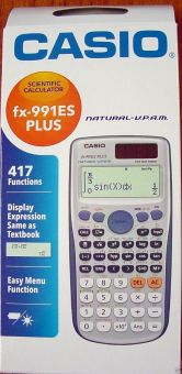 Harga Casio FX-991ES Plus Scientific Calculator FX991ES + FX 991 ES