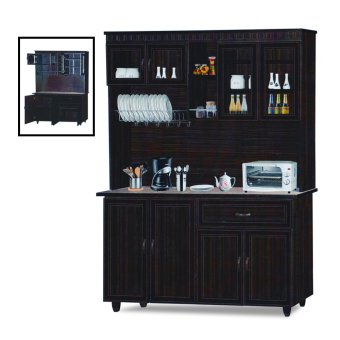 Nova 3011-WN Dining Cabinet (FREE DELIVERY) (FREE ASSEMBLY)