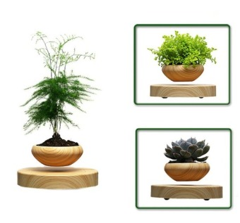 Harga Levitation Air Bonsai (no plant) Self balance magnetic Suspension flower pot pottedplant levitate tubs