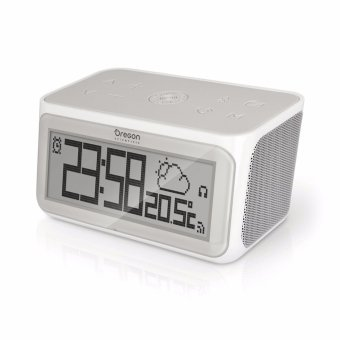 Harga Oregon Scientific Smart Connected Clock with Internet Radio CIR100 - intl