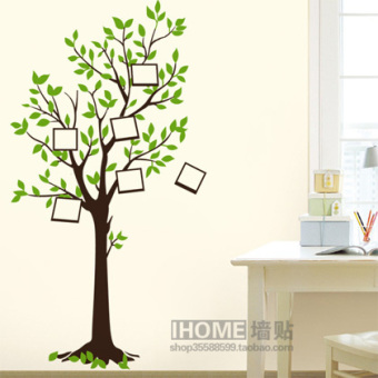 Harga Three generations removable wall stickers wishing tree photo removable wall stickers living room bedroom dining room