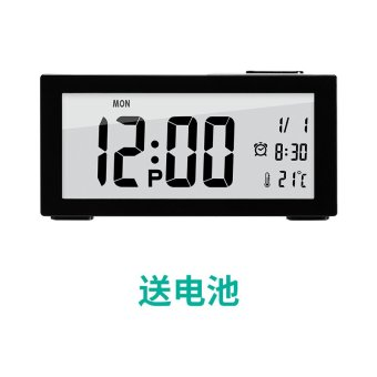 Harga Children electronic clock lazy alarm clock creative mute students minimalist bedroom bedside clock luminous watches and clocks clock