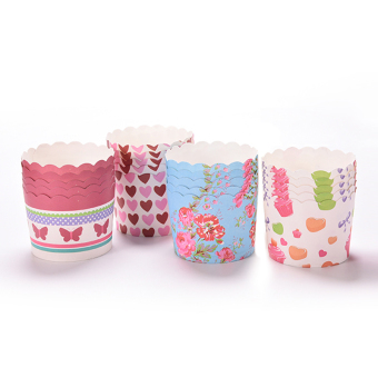 Harga Velishy Disposable Cake Baking Paper Cup Cupcake Muffin Cases 50Pcs