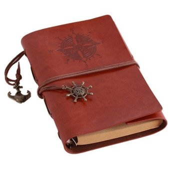 Harga LALANG Vintage Blank Pages String Notebook Journal Diary Brown