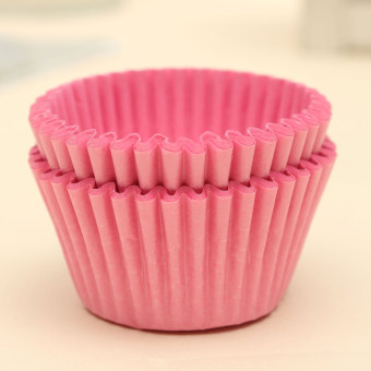 Harga 500pcs Xmas Paper Cake Cupcake Liner Case Wrapper Muffin Baking Cup Party Pink