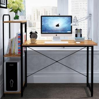 Study Desk with Book Shelf (Brown)