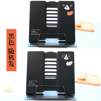 Harga Anti-myopia can be adjusted reading frame student iron book stand clip books the books Book stall