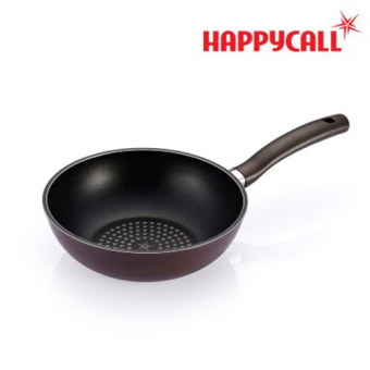 Harga [Happy call ] Diamond Porcelain Coating Wok Pan 24cm / Korea NO.01 Cook Ware / The best gift of housewives / Made in Korea
