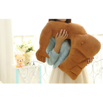 Harga 360WISH Funny Boyfriend Muscle Man Arm Plush Cotton Pillow (Brown) (EXPORT)