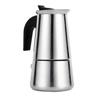 Harga Induction Cooker Applicable Percolator Moka Pot Coffee Maker Stove (100ml) - intl