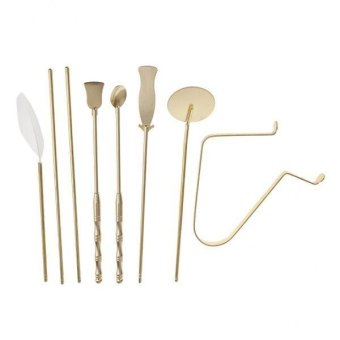 Harga MagiDeal 7 Pieces/Set Brass Incense Tools for Meditation Room