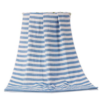Harga Chi yang gauze cotton towels to increase adult thick stripes strapless fashion home bath towel spring and summer