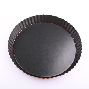Harga Tart Mold Non-Stick 9 Inches Round Tart Removable Loose Home Baking Mold