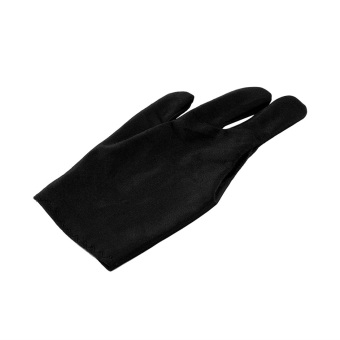 Harga OH Hot 1 Pair Spandex Snooker Billiard Cue Glove Pool Three Finger Accessory