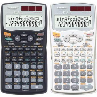 Harga Sharp Scientific & Statistics Calculation EL-509WS-WH