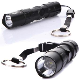 3W Police LED Mini Waterproof Ultra Bright Flashlight Torch Camping Hiking #B