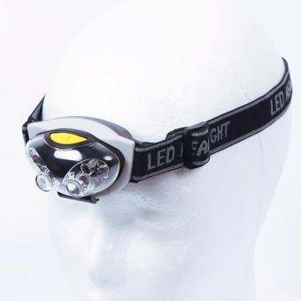 Harga BUYINCOINS New LED Head Lamp Torch Light Hands Flashlight With Headband Emergency Survival
