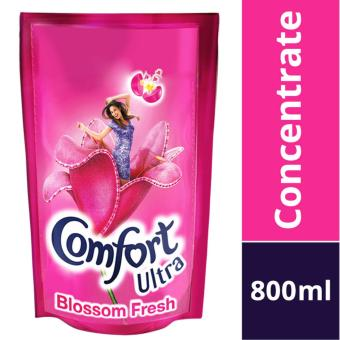 Harga Comfort Concentrates Ultra Blossom Fresh Fabric Softener Refill Pack 800ml