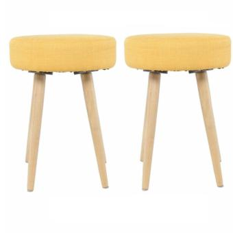 Harga 1+1 Tina Stool Set (Yellow) (Free Delivery)