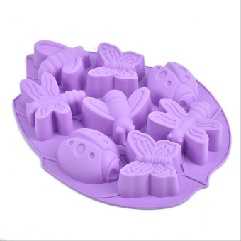 New Insect Silicone Mould Fondant Cake Decorating Tools Silicone Soap Mold Silicone Cake Mold - Intl