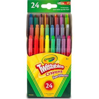 Harga Crayola 24 Twistable Crayons (Fun Effects!)