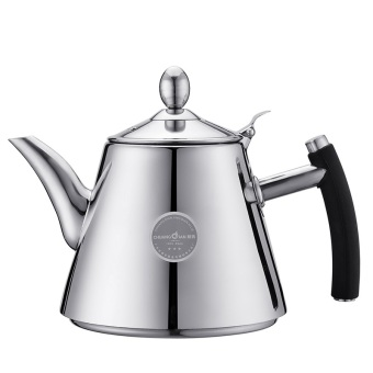 Harga water pot with filter stainless steel tea kettle 1200ml induction use restaurant / household use