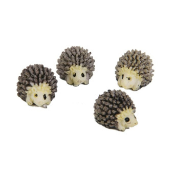 Harga Black Horse 10pcs Miniature Hedgehog Fairy Dollhouse Bonsai Garden Landscape Decor Useful