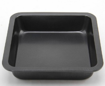 Baking mold 8-inch square baking pan cake mold bread mold pizza pan
