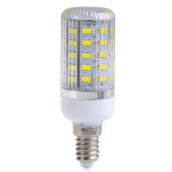 E14 10W 48SMD 5730 5630 Light Corn Lamp Bulb Cool White AC220V