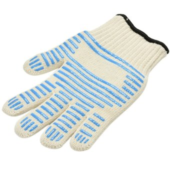 Harga Amango Amazing Heat Proof Ove Glove Non-slip Silicone Grip Durable Hot Surface Hand