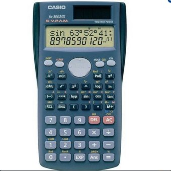 Harga CST Casio FX-300MS Plus Scientific Calculator 2-Line Display FX300MS Plus /GENUINE