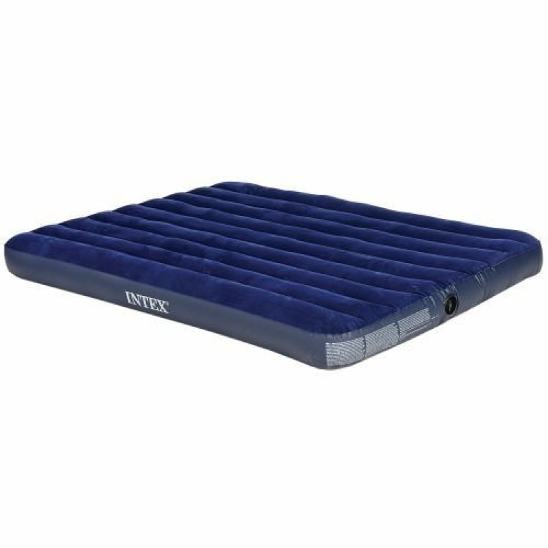 Intex Comfy Inflatable Air Mattress with Electronic Pump - Super Queen Size