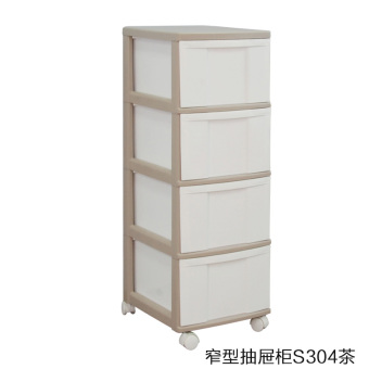 IRIS plastic multi-layer storage cabinets