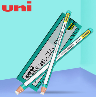 Harga Japan uni Mitsubishi rolls rubber rub EK-100 pen-shaped Rubberdetails rubber high light rubber eraser is not easy to dirty